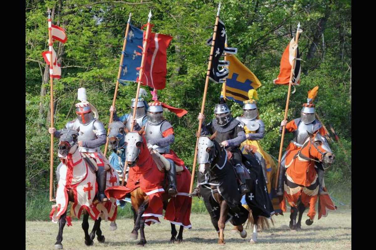 Torneo Medievale: Cavalieri