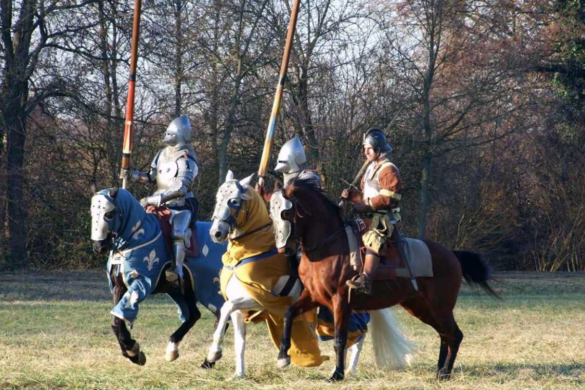 Torneo Medievale: Sul campo